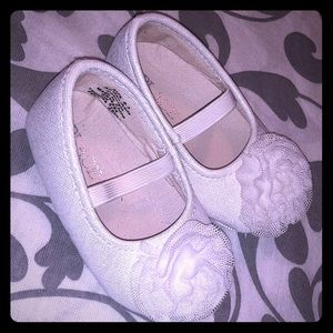 White Baby Girl Dress Shoes